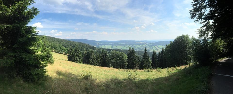 horský terén