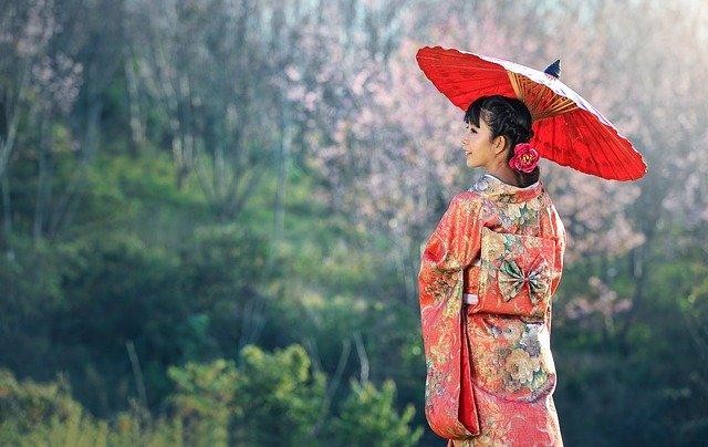 mladá gejša