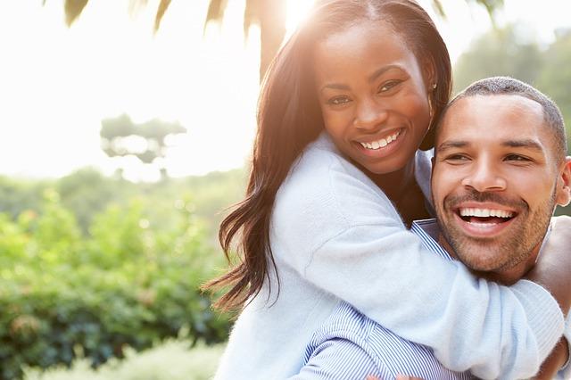 šťastný černoši