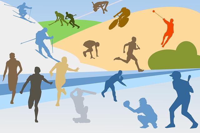 sportovní siluety