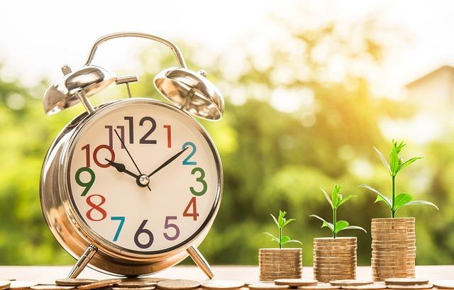 budík a růst peněz